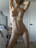 Young Hotwife poses