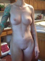 My naked tattooed wife